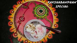 RAKSHA BANDHAN SPECIAL SWEET (PUDDING)   KRUPAS COOKERY