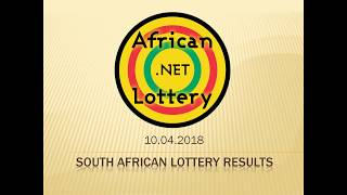 South African Powerball results 10 April 2018