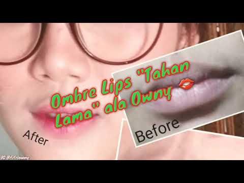 cara-mudah-membuat-ombre-lips-tahan-lama-|-fitri-owny
