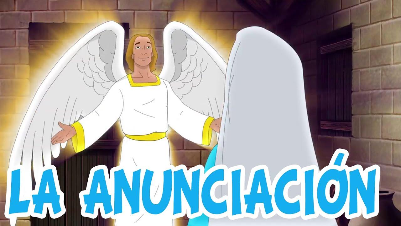 Ep7 La Anunciacion El Angel Gabriel Se Aparece A Maria Youtube