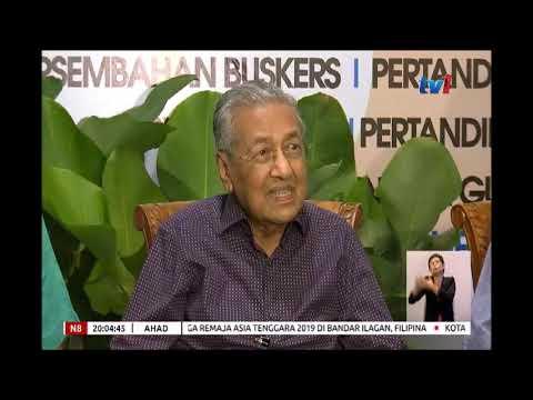 N8- TUN DR MAHATHIR MOHAMAD, PERDANA MENTERI MALAYSIA [3 MAC 2019]