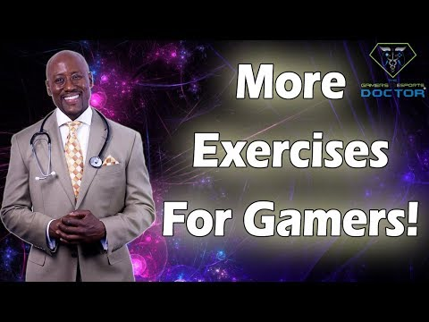 Hand & Wrist Exercises For Gamers!