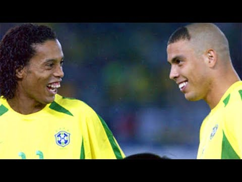 Ronaldinho and Ronaldo Making History Against Germany