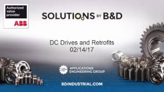 DC Drives and Retrofits(Many folks believe that DC motors and drives are a thing of the past. The belief is propagated by folks who do not understand DC or they do not work with a ..., 2017-02-19T18:00:30.000Z)