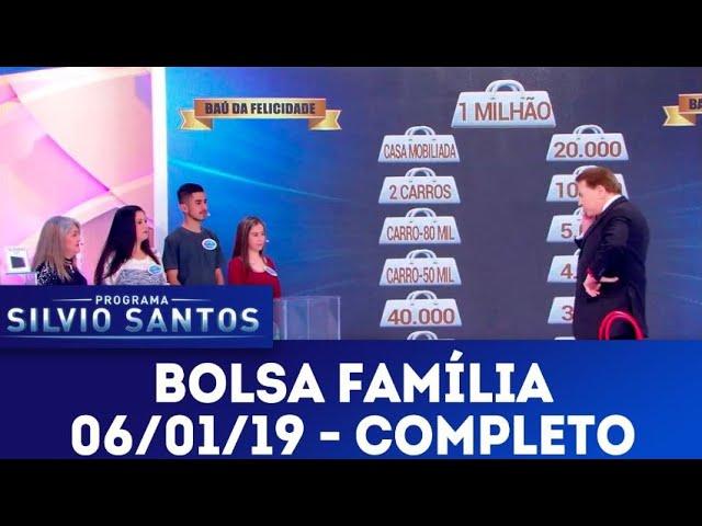 Bolsa Família - Completo | Programa Silvio Santos (06/01/19)