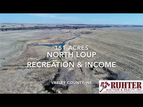 North Loup Recreation & Income 151 Acres Valley County, NE