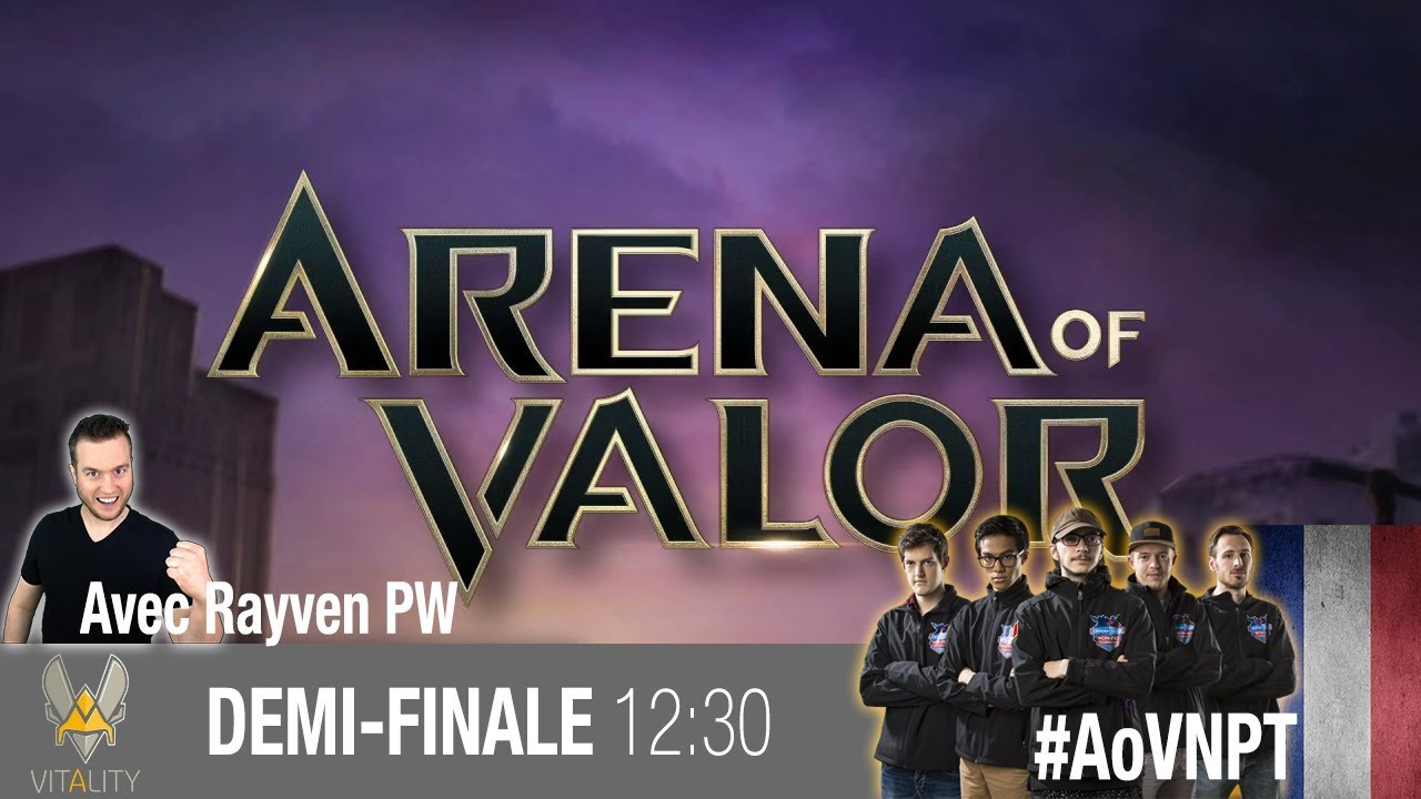 🔴Arena of Valor Official French Caster NPT Finals DreamHack