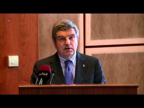 IOC President Dr. Thomas Bach Speech.