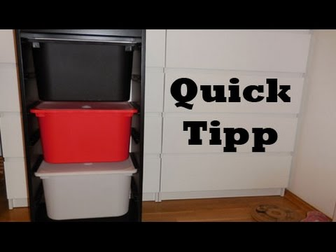 quick tipp m lltrennung ikea hack youtube. Black Bedroom Furniture Sets. Home Design Ideas