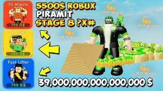 I BOUGHT LEGENDARY GAMEPASSES WITH $5500 ROBUX | Lifting Simulator | Roblox English