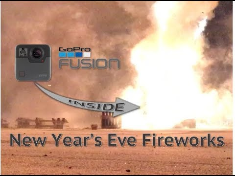 GoPro Fusion Inside New Year's Eve Fireworks