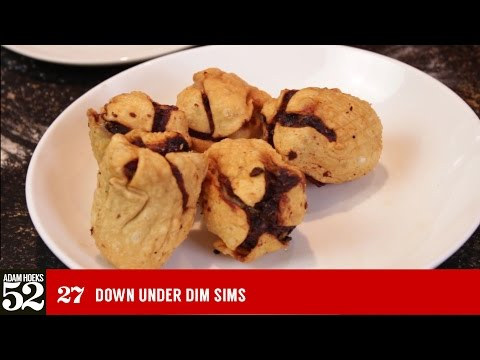 'Down Under' Dim Sim Recipe