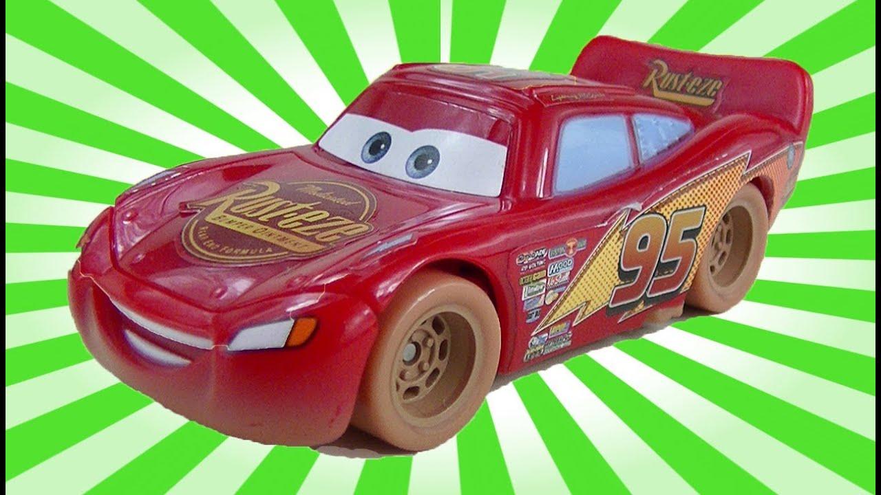 Lightning McQueen Toys Cars 2 Disney Movie Dirt Track ...