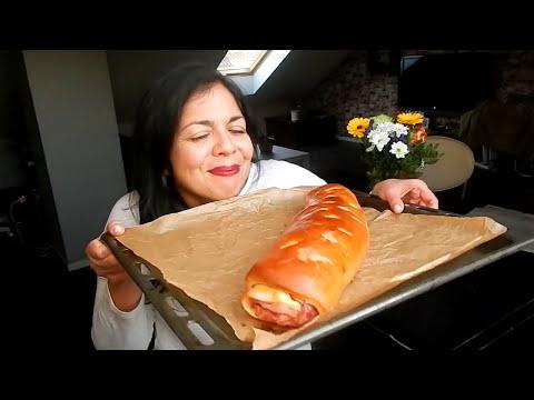 El pan de jamón más rico del mundo mundial │Receta fácil