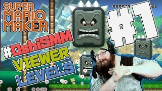VIEWER LEVELS - Super Mario Maker - #OshiSMMLevels from Twitter!