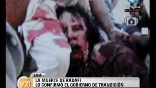 Visión Siete: Mataron a Kadafi