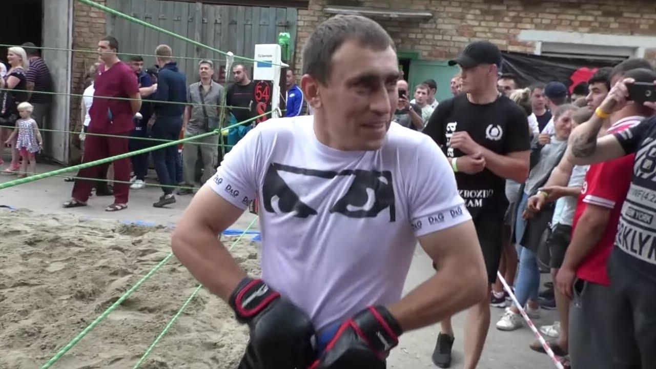 МУЖИК С КАВКАЗА вышел в ринг против молодого Бойца !!!