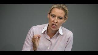 Debatte im Bundestag: Bundestagspräsident rügt Alice Weidel wegen Diskriminierung