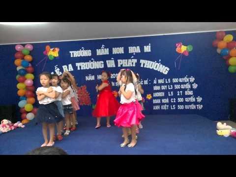 Tạm Biệt Búp Bê - Lớp Lá 3 - Mầm non Họa Mi Nhà Bè