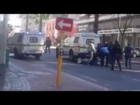 Cape Town Lock down at Cash Crusaders Robbery