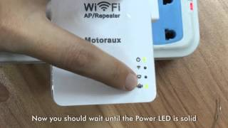 motoraux usb wifi repeater how to reset