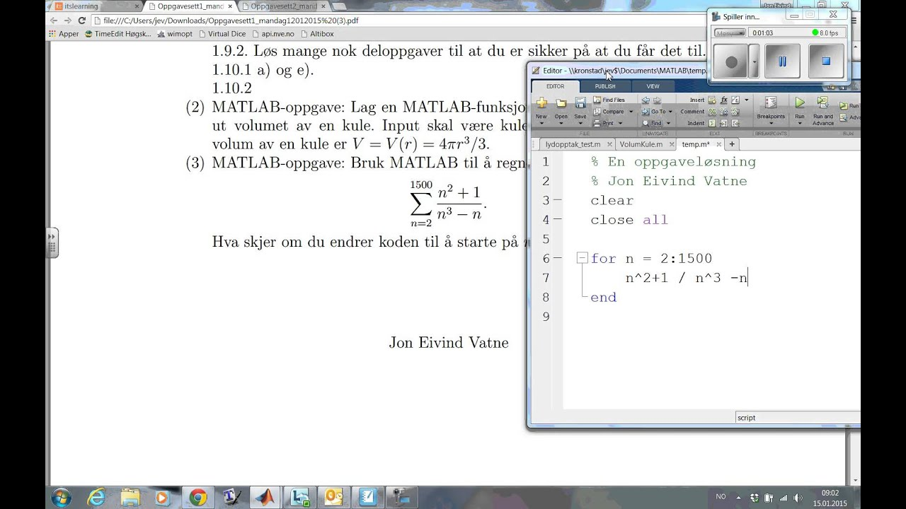 linear precoding matlab code examples