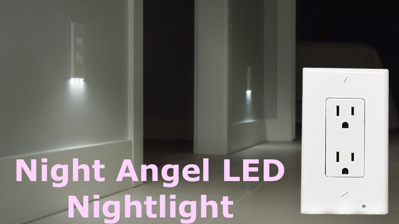 Night Angel Light Wall Outlet Cover