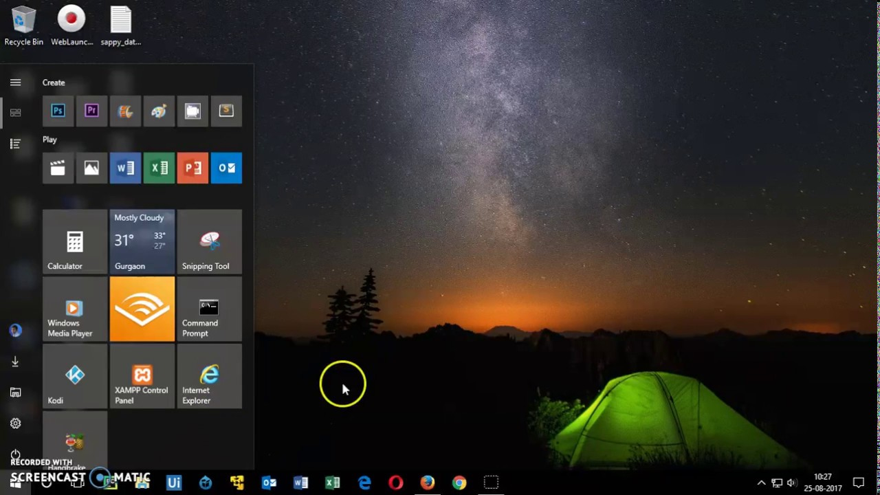 How to Create Desktop Shortcuts in Windows 10
