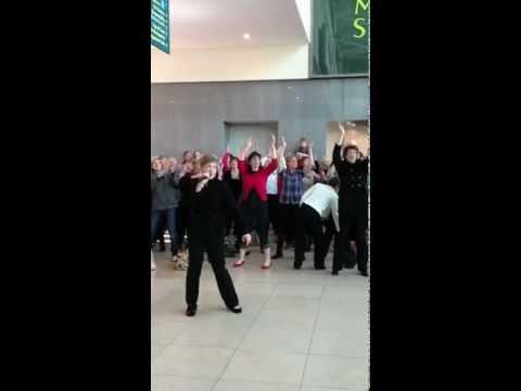 Rock Choir Flashmob - Basingstoke, Festival Place
