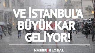 İstanbul'a Ne Zaman Kar Yağacak?   Bünyamin Sürmeli Hava Durumunu açıkladı!