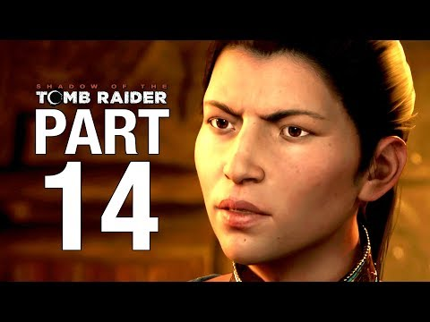 SHADOW OF THE TOMB RAIDER Gameplay Walkthrough Part 14 - The King's Horn - No Commentary