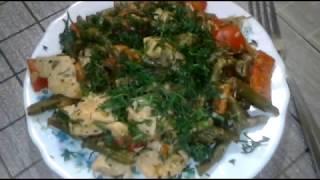 Курочка с овощами / Фитнес рецепт & Chicken with vegetables / Fitness recipe