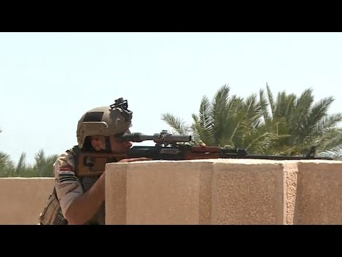 On The Fallujah Front Lines In Fight Against ISIS