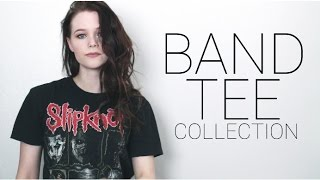 BAND TEE COLLECTION