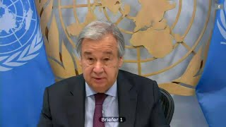 UN Chief on Global governance post Covid-19