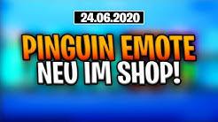 Fortnite Shop 24.6.20 | PINGUIN EMOTE | Shop von heute 24.6 | FERJUS