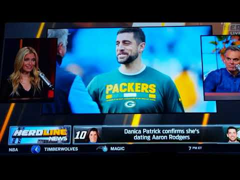 The herd - danica Patrick dating aaron rodgers