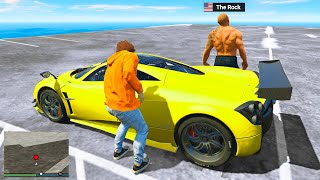 Stealing CELEBRITY SUPERCARS In GTA 5 RP!