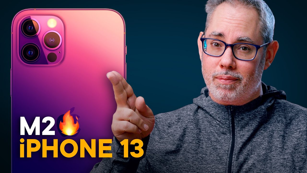 iPhone 13, but M2?