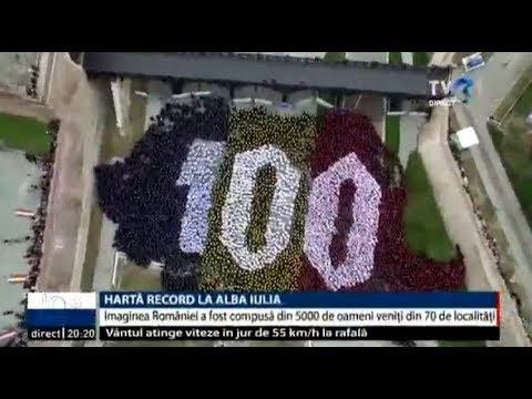 Harta Romaniei In Guinness Book A Fost Alcătuită Din 5 Mii De