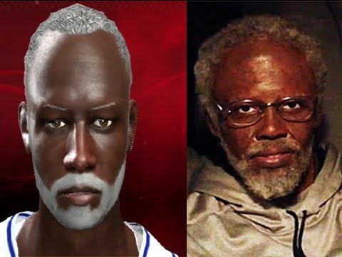 NBA 2K13 Create Player Uncle Drew Kyrie Irving