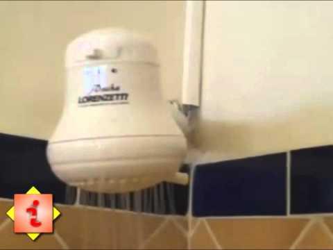 Regadera el ctrica ahorradora de agua y dinero imx youtube for Ducha electrica precio