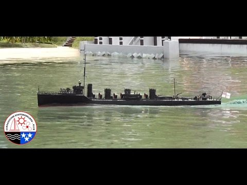RC Boat – HMS Amazon – WWI Destroyer