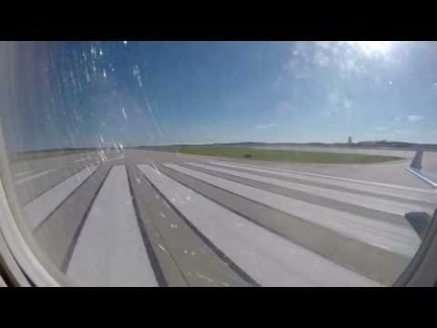 Take off from Grand Rapids Gerald R. Ford International Airport (USA)