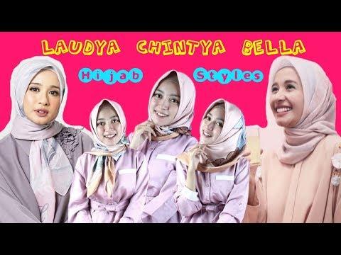 Tutorial Hijab Segi Empat ala Laudya Cynthia Bella by Seftin Prahaswati Semoga bermanfaat ya :)  Follow: Instagram : http ....
