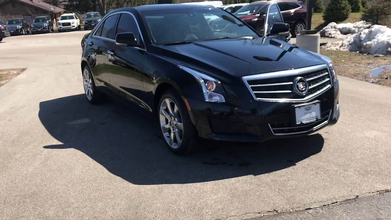 2014 Cadillac Ats 2 0t Luxury Morello Red Interior Boucher Cadillac Youtube