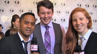 MATTHEW J. EVANS w/ TYRONE TANN & COURTNEY PHILLIPS - 35th Annual Young Artist Awards