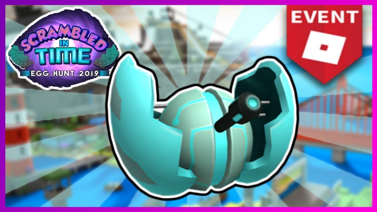 HOW THE GET THE CRACKING TECHNOLEGGY TURRET EGG | ROBLOX EGG HUNT 2019