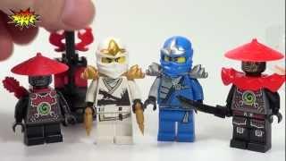 Ninjago LEGO 2013 Battle Pack Samurai Accessory Set 850632 Review With 4 Minifigures