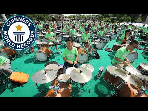 Largest Rock Band - Guinness World Records